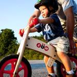 teach a kid to balance bike