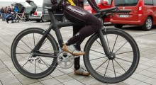 Custom aero bike