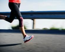 flat feet running